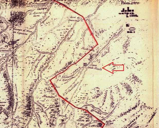 """località """"Serra della Menta""""."""
