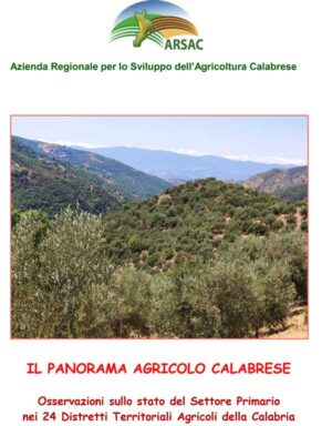 il panorama agricolo calabrese